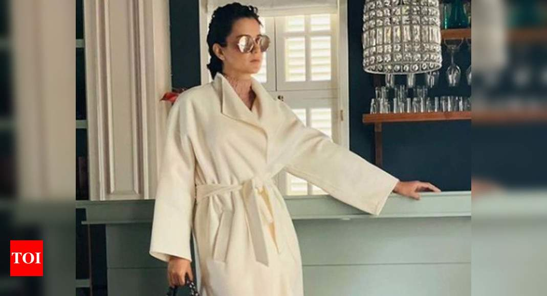 Kangana Ranaut tests positive for COVID-19 ahead of her trip to Himachal, promises to 'destroy and demolish' the virus – Times of India ►