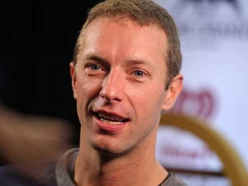 Coldplay frontman Chris Martin: My whole being is built around playing to people