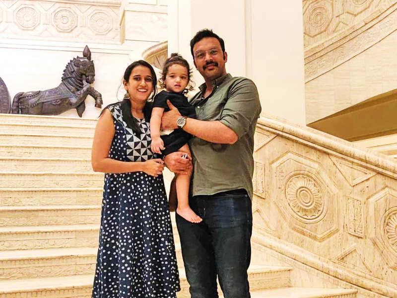 Amit Bhargav and Sriranjani Sundaram share an adorable video as their baby girl Veda Sri Bhargav turns two; watch (Photo - Instagram)