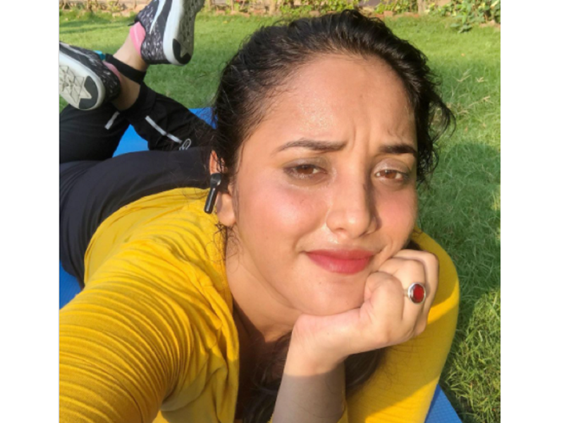 Rani Chatterjee shares a sunkissed selfie post workout
