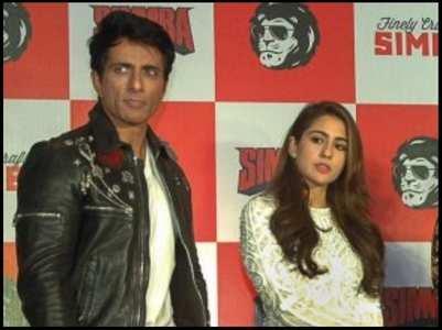 Sonu Sood calls Sara Ali Khan a 'hero'