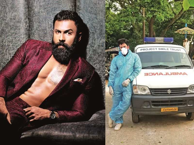 Arjun Gowda, who turned ambulance driver to help people, says he gets over 1000 calls a day
