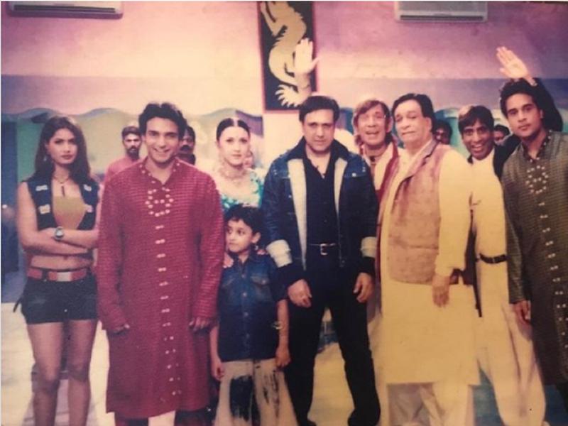 Vinay Anand looks unrecognisable in this throwback from  'Jahan Jaaeyega Hamen Paaeyega'