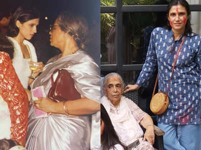 Rina Dhaka's tribute to her late mom-in-law