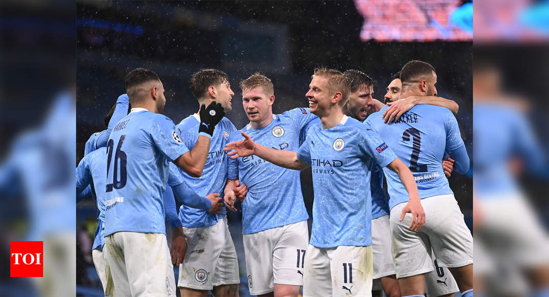 Manchester City poised to win Premier League title | Football News – Times of India