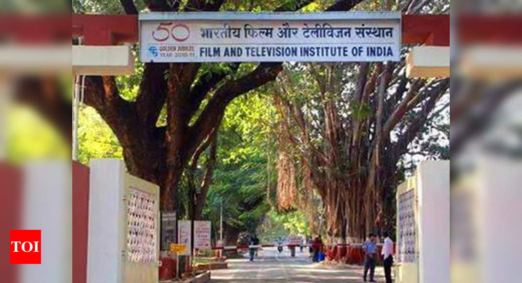 FTII students want suspension of online classes for 2020 batch – Times of India