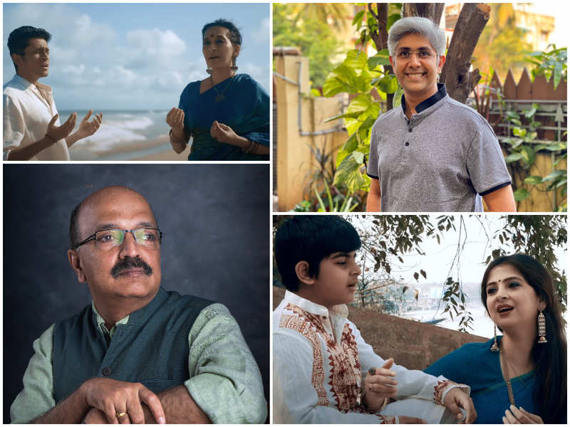 A song on the rivers of India to create awareness about conserving water