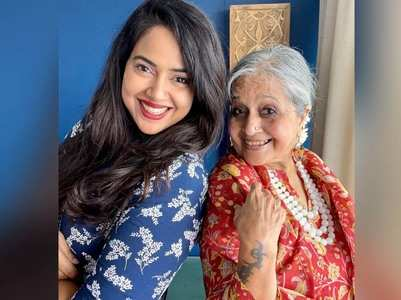 Sameera Reddy: Love my mom's zest for life
