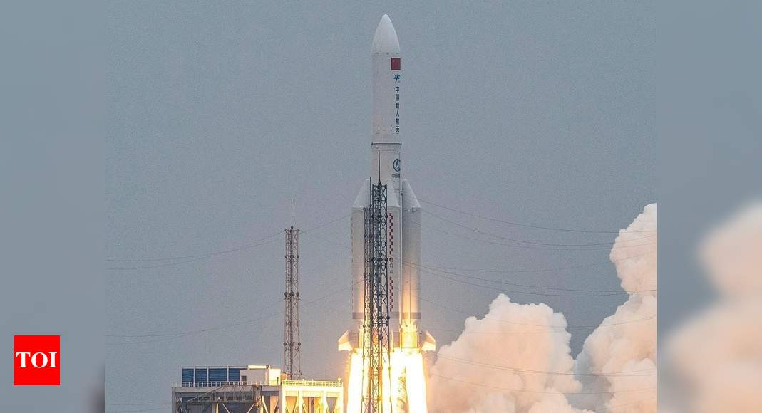 Chinese rocket to tumble back to Earth in uncontrolled re-entry – Times of India