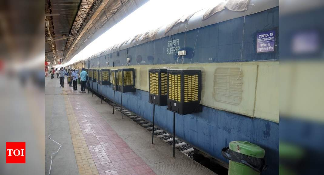 Covid care coaches deployed at 17 stations across seven states: Railways