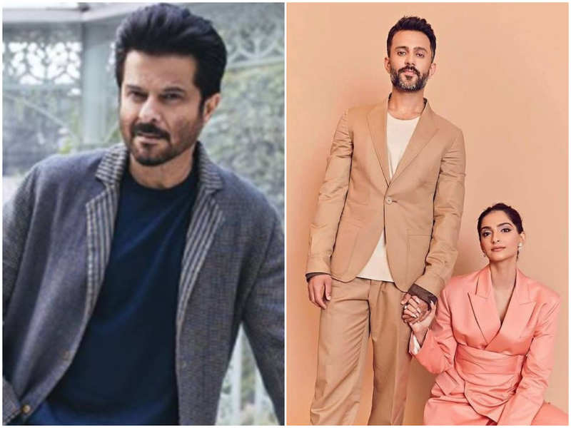 Anil Kapoor has the sweetest wish for Sonam Kapoor and Anand Ahuja's third wedding anniversary