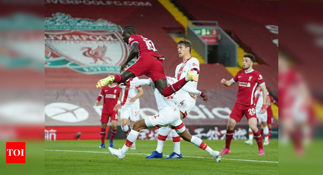 Liverpool sink Southampton to keep top-four hopes alive   Football News – Times of India