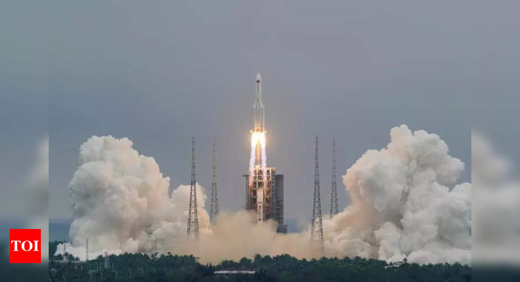 Chinese rocket segment Long March 5B Yao-2 disintegrates over Indian Ocean: state TV – Times of India