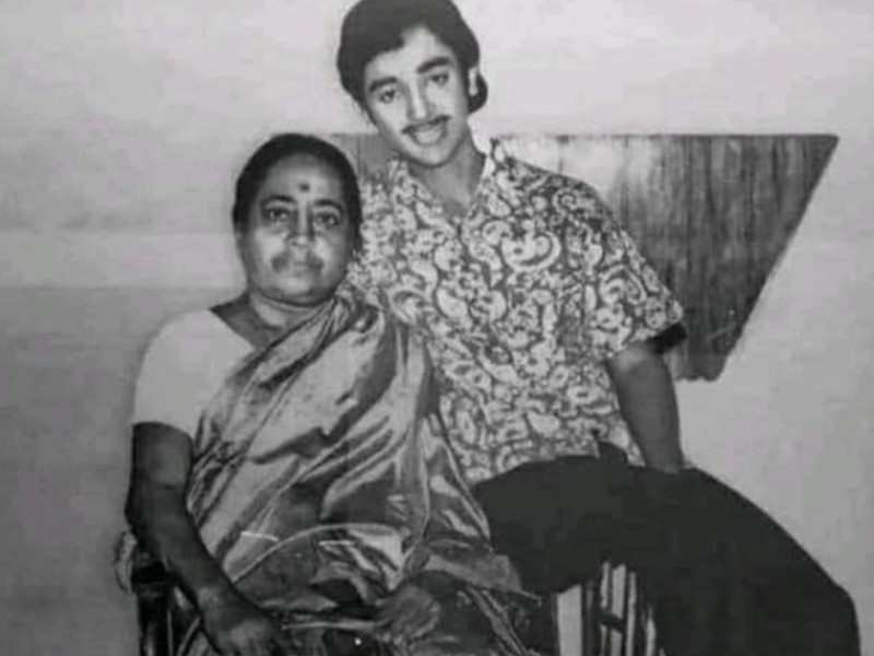 Kamal Haasan wishes fans on Mother's Day, shares a throwback picture with his mother