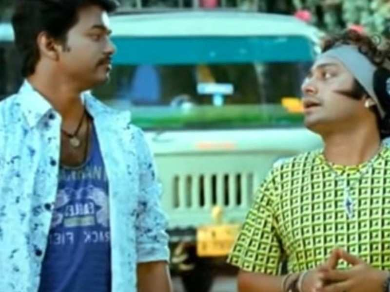 Unseen: 'Master' actor Srinath shares Vijay's school days picture