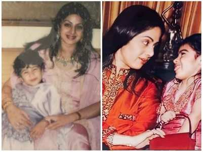 Janhvi & Khushi remember late Sridevi