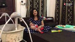 Actress Piyali Mukherjee talks about her motherhood journey during the pandemic