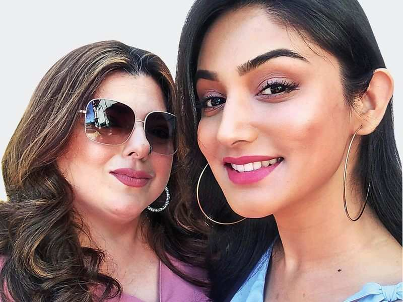 Delnaaz Irani and Donal Bisht