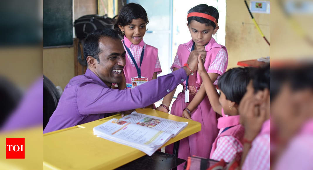 Global Teacher Prize winner Ranjitsinh Disale joins new student prize panel – Times of India