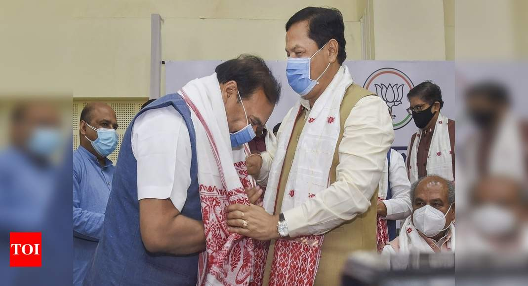 Sonowal 'marg-darshak'; grateful to PM Modi, Amit Shah: Assam CM-elect Himanta | India News – Times of India