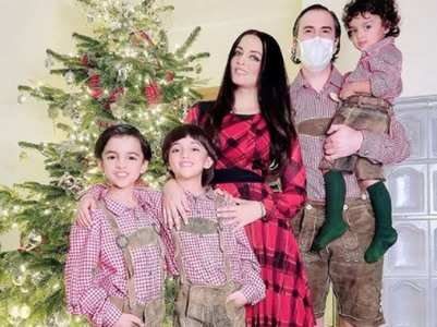 Celina Jaitly on her twin pregnancies