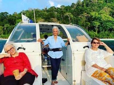 Waheeda Rehman, Helen holiday in Andaman