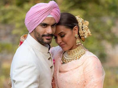 Neha-Angad celebrate third wedding anniv.