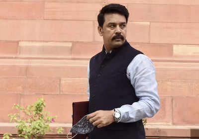 17.56 cr doses of free vaccines provided to states: Anurag Thakur   India News
