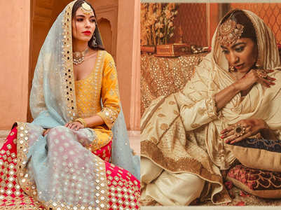 Sharara and kurti inspiration for Eid 2021