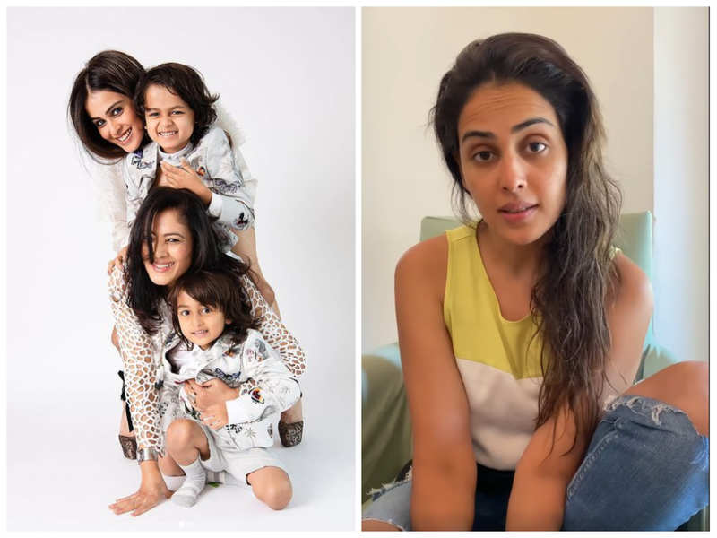 Genelia has a Mother's Day message for all COVID-19 positive moms and kids