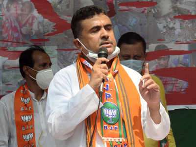 Suvendu Adhikari elected opposition leader in West Bengal assembly | India News