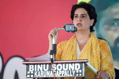 Priyanka criticizes the government for the Central Vista project   India News