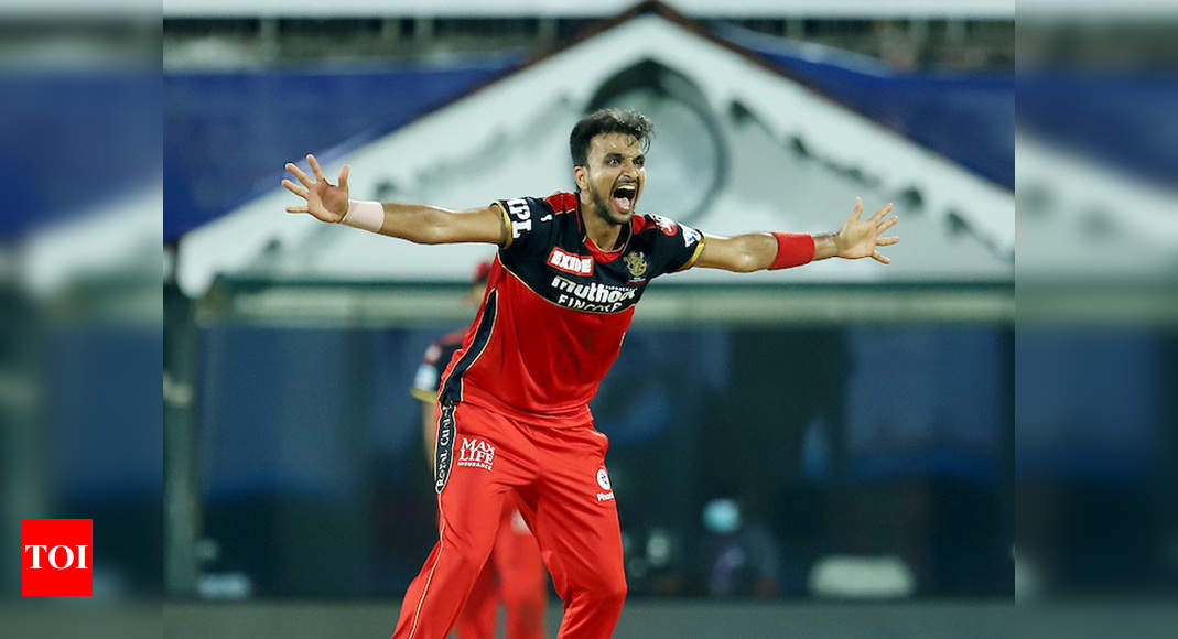 Virat Kohli's message made me realise I can perform at RCB: Harshal Patel | Cricket News – Times of India