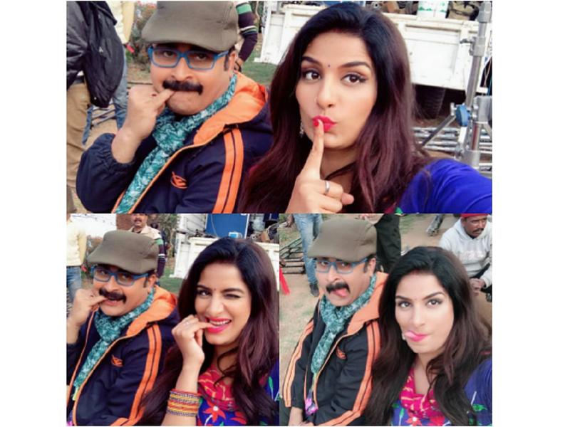 Poonam Dubey wishes happy birthday to co-star Samarth Chaturvedi with a few funny selfies