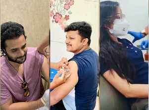 Sriimurali, Ashika Ranganath get their first dose of COVID vaccine