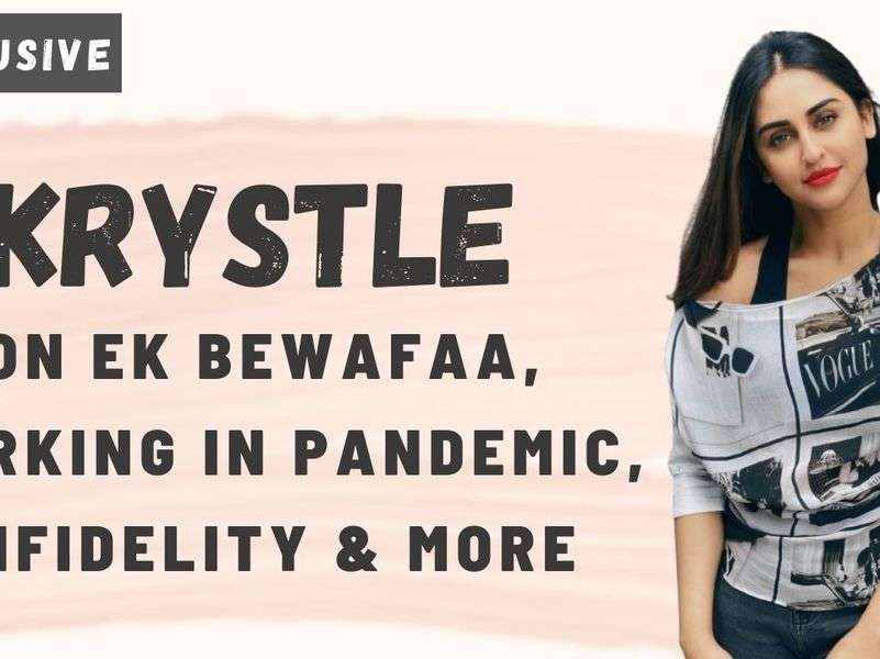 Krystle D'souza on working in the current phase: Getting work is a blessing in these times
