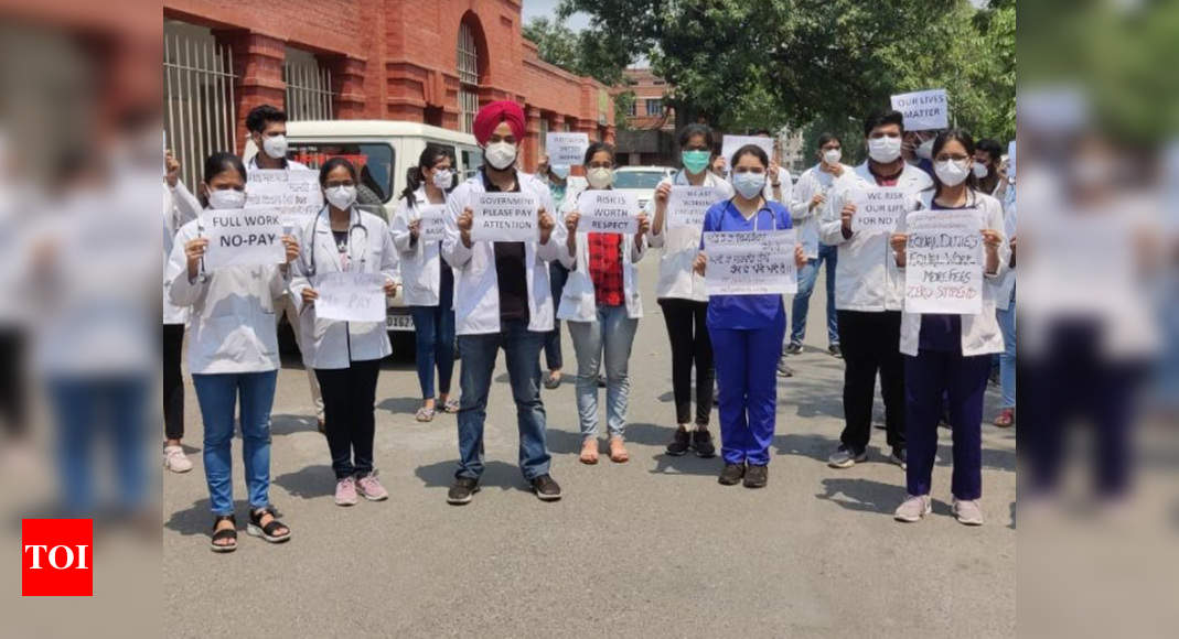 Shifted MBBS interns threaten to go on strike if they are not given internship – Times of India