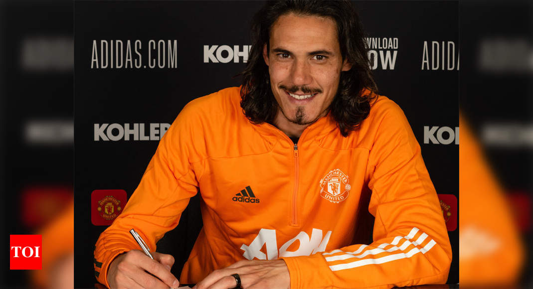 EPL: Edinson Cavani extends Man United stay with one-year deal | Football News – Times of India