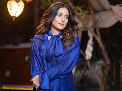 Hina Khan on her new song #PattharWargi