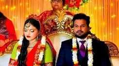 Ritesh Pandey gets engaged to Vaishali Pandey in Varanasi