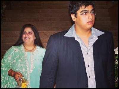 Arjun Kapoor remembers his mother