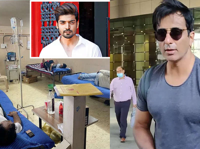 Gurmeet Choudhary launches makeshift hospital dedicated to COVID 19 patients; Sonu Sood imports oxygen plants from France and other countries