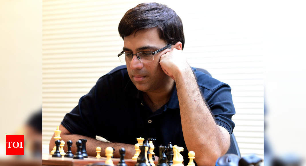 Viswanathan Anand, four other Grandmasters to play for raising Covid relief fund | Chess News – Times of India