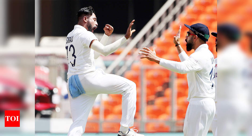 EXCLUSIVE – I owe my career to Virat Kohli, says Mohammed Siraj | Cricket News – Times of India