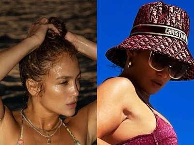 Jennifer Lopez's swimwear style