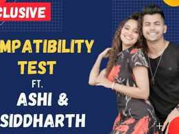 Exclusive |Ashi Singh and Siddharth Nigam take the compatibility test