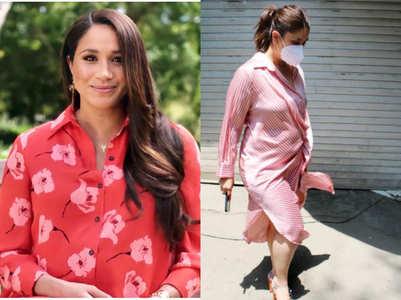 Kareena to Meghan: Shirt dresses are a hit