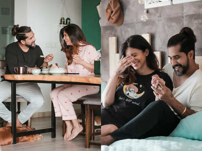 Inside Kishwer-Suyyash's elegant home; pics