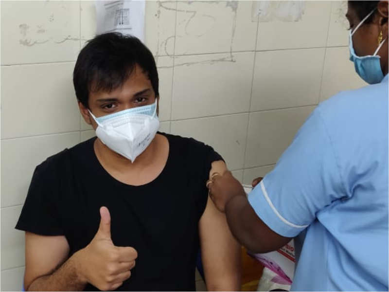 I wanted to get vaccinated for my safety and of those around me: Sanjay Bharathi