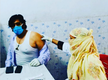 Ravi Kishan gets the second dose of COVID-19 vaccine